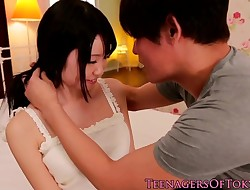 Frigged chinese teenage cumsprayed in mouth