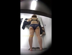 Asian Woman Dressing Room