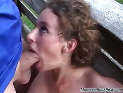 brutal german sex in the mountains