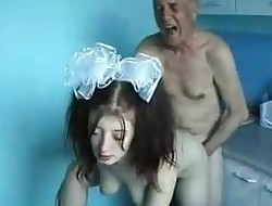 Man And Young Girl