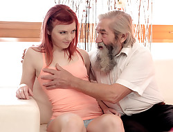 DADDY4K. Unexpected experience with an aged gentleman