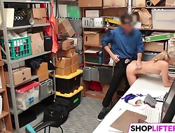 Nubile Woman Emma Gets Drilled For Shoplifting
